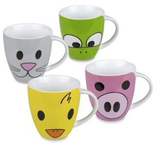 Konitz Children's Animal Mugs (Set of 4)