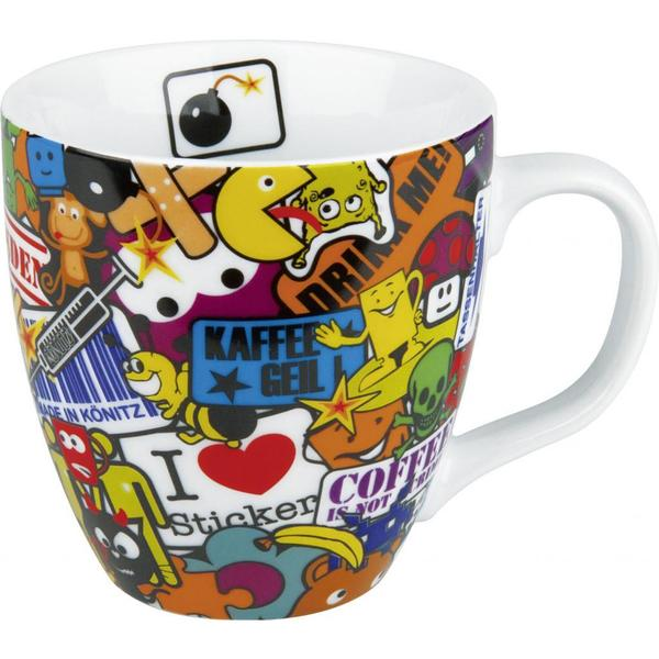 Konitz Sticker Bombing Mugs (Set of 4)