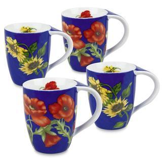Konitz Flower Mugs (Set of 4)