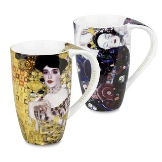 Konitz Mugs Gustav Klimt, Adele Bloch Bauer, Jungfrau (Set of 2)