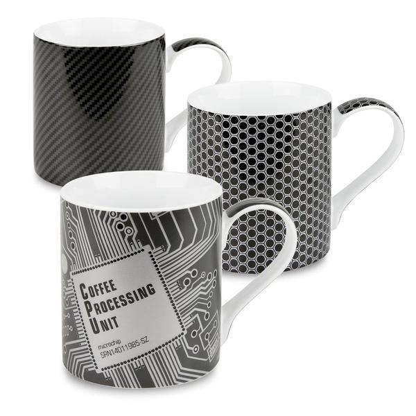 Konitz High Tech Mugs (Set of 3)