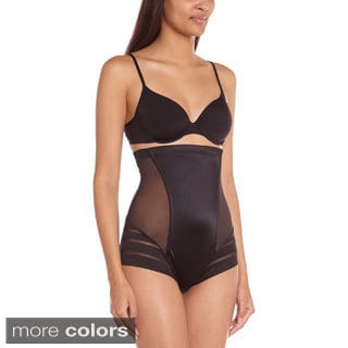Maidenform Women's Sleek Stripes Hi-waist Body Shaper