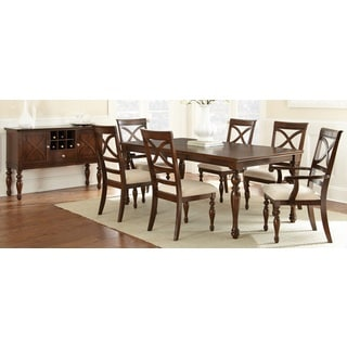 Calloway Cherry Finish Dining Set