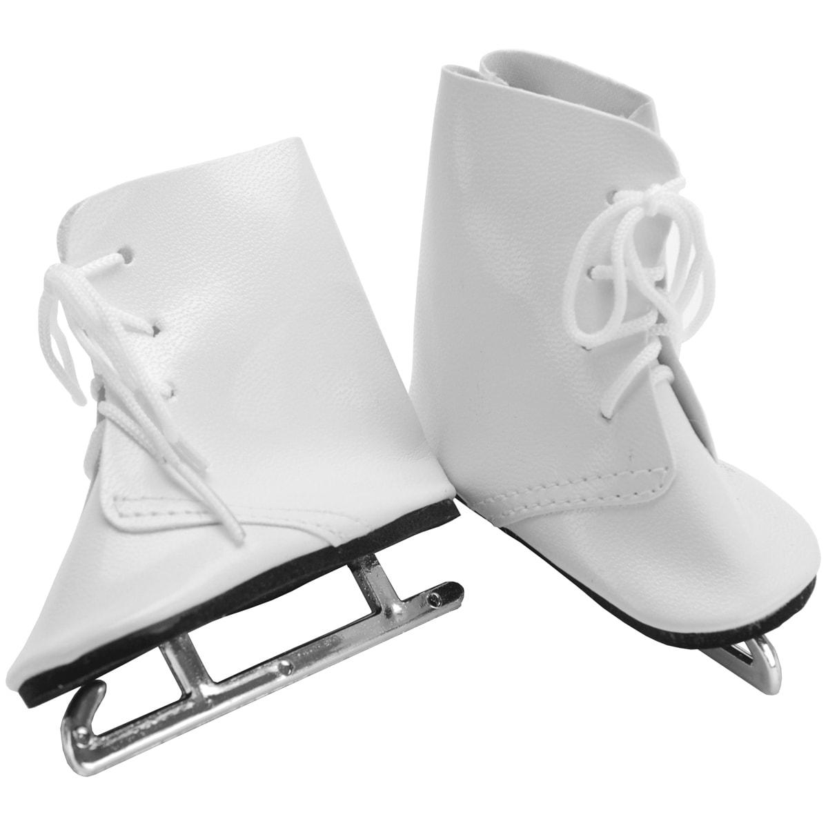 Fibre-Craft Springfield Collection Ice Skates-White