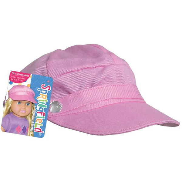 Springfield Collection Newsboy Cap in Pink