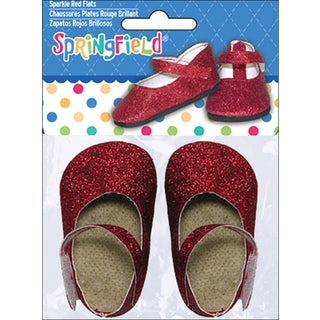 Springfield Collection Sparkle Flats-Red