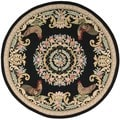 Nourison Everywheres Black Rug (7.5' Round)