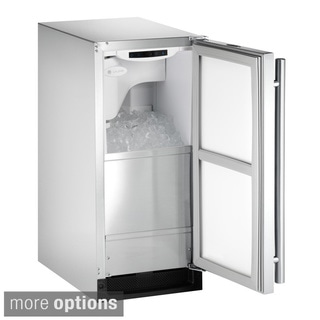 U-Line Clear/ Stainless Steel Outdoor Ice Machine