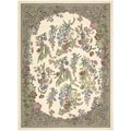 Nourison Everywheres Ivory Rug (3'6 x 5'6)