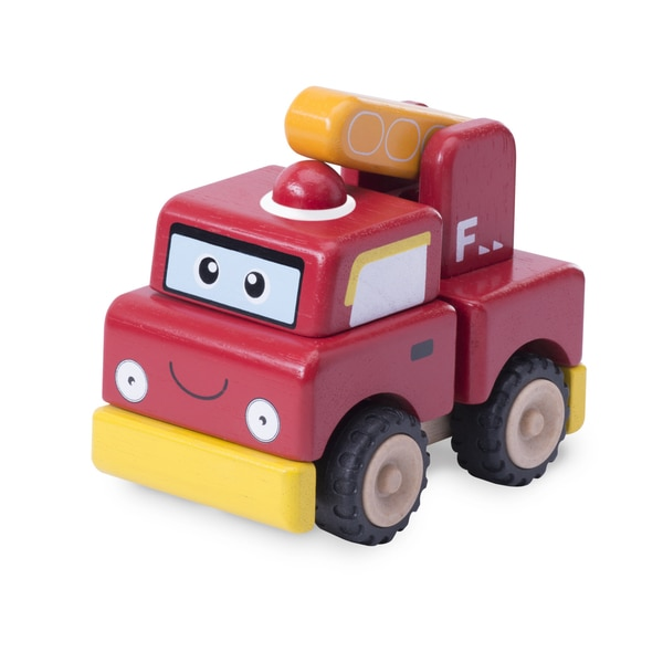 Build A Fire Engine Toy Truck