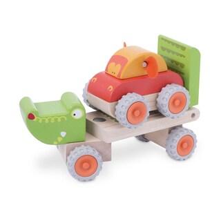 Crocodile Trailer Wooden Vehicle