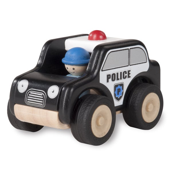 Mini Patrol Car Toy Vehicle