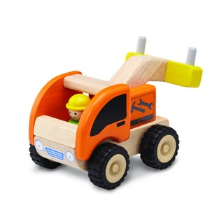 Mini Tow Truck Wooden Toy