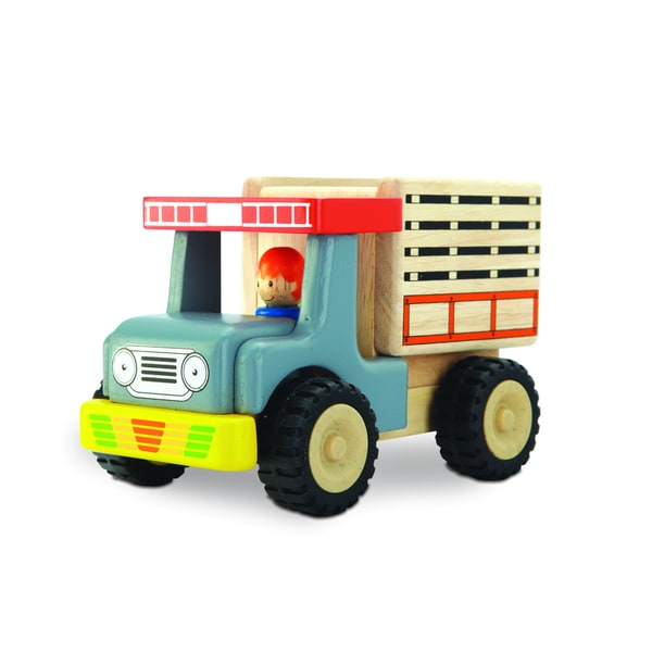 Mini Wooden Toy Truck