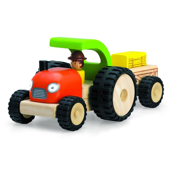 Mini Tractor Toy Set