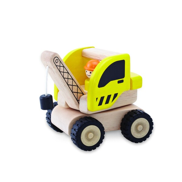 Mini Crane Wooden Toy