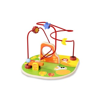 Safari Beads Wooden Toy Set