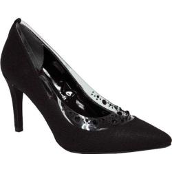 Women's J. Renee Diamond Black Moonlight Metallic Fabric
