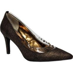 Women's J. Renee Diamond Bronze Moonlight Metallic Fabric
