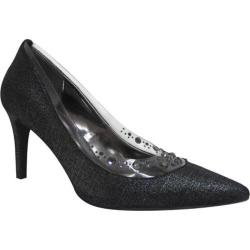 Women's J. Renee Diamond Gunmetal Moonlight Metallic Fabric