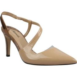 Women's J. Renee Vitti Nude/Brown/Bronze Patent/Metallic