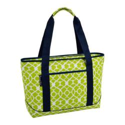 Picnic at Ascot Large Insulated Tote Trellis Green
