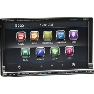 "Boss BV9759BD Car DVD Player - 7"" Touchscreen LCD - 68 W RMS - Double"