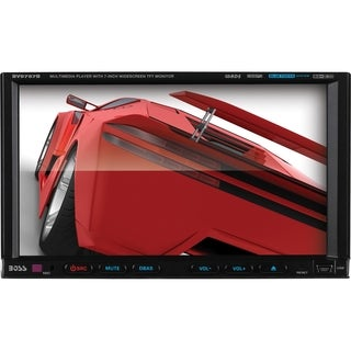 Boss Audio BV9757B Double-DIN 7 inch Motorized Touchscreen DVD Player