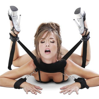Fetish Fantasy Series Position Master Restraining System with Cuffs