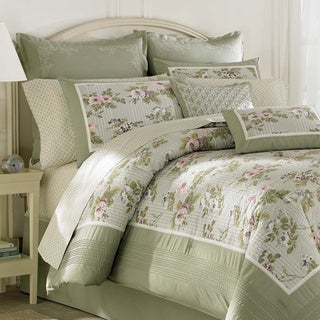Laura Ashley Avery Cotton 3-piece Duvet Cover Set