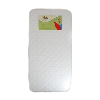Ikko Small Bassinet Mattress Pad in White