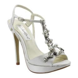 Women's Coloriffics Crystal Ivory Satin