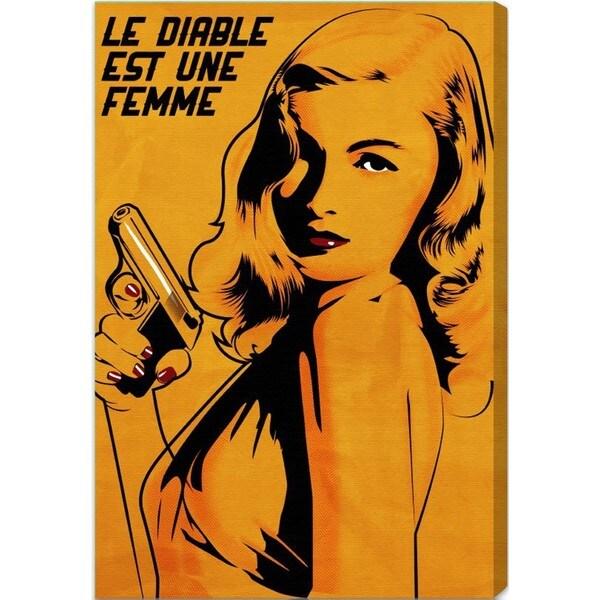 Oliver Gal 'Le Diable est un Femme' Canvas Art