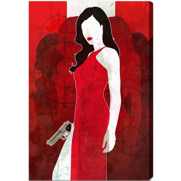 Oliver Gal 'Secret Agent' Canvas Art