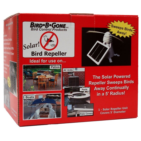 Solar Powered Bird Repeller