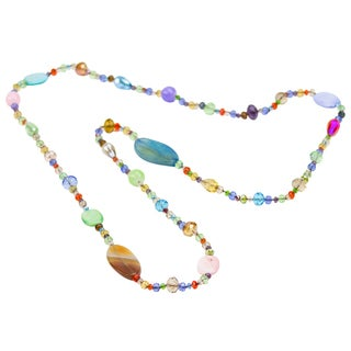 'Bohemian Energy' Multi-gemstone/ Mineral Necklace