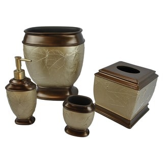 Sherry Kline Hemingway 4-piece Bath Accessory Set