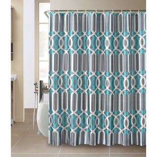 Plato Shower Curtain and Hook Set