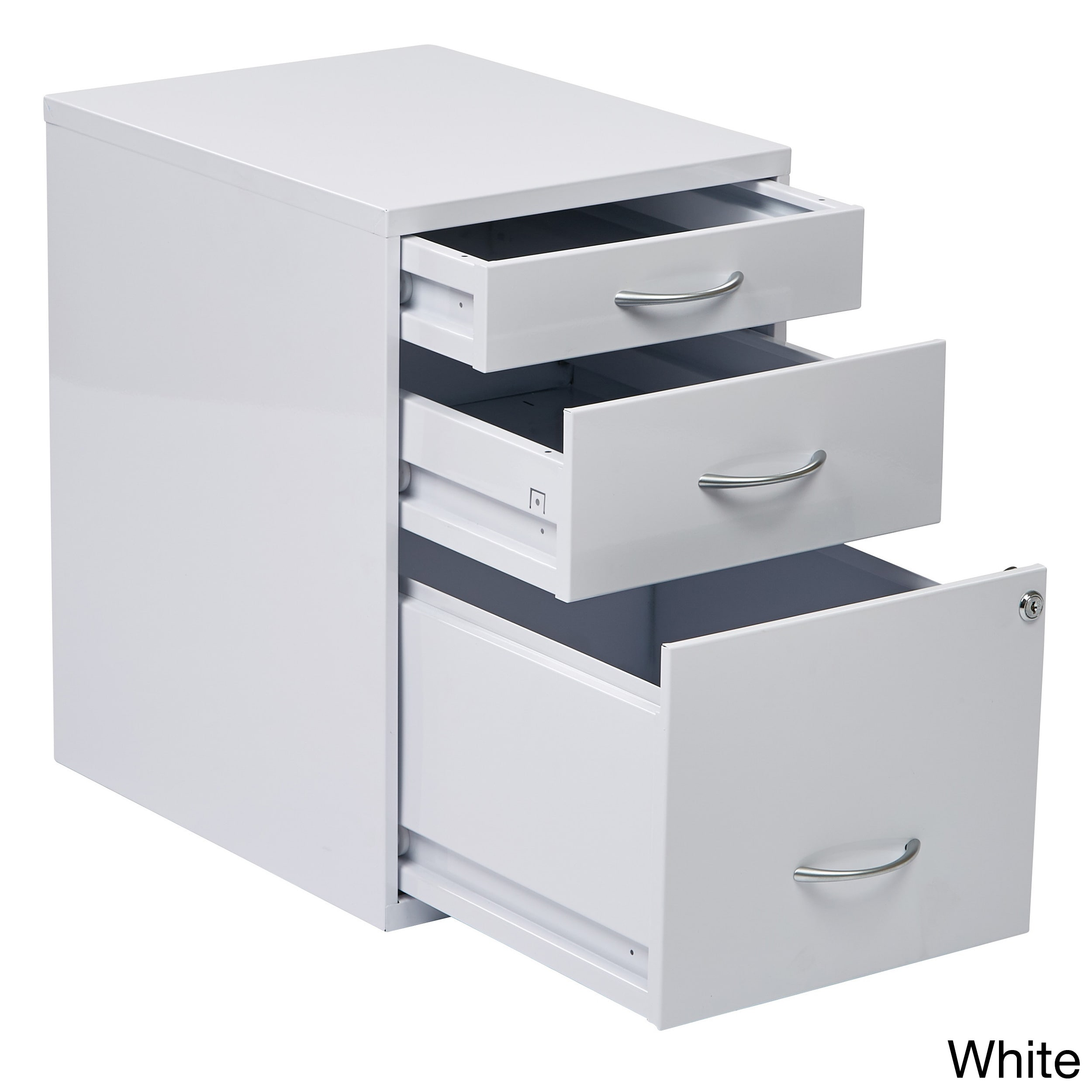locking storage drawer and silver handles file cabinet overstock