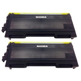 Brother (TN350 TN-350) Black Toner Cartridge (Pack of 2)