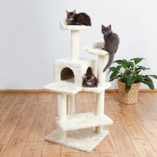 TRIXIE Simona 51-inch Plush Cat Tree