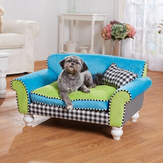 Mackenzie Checkerboard Furniture Pet Bed
