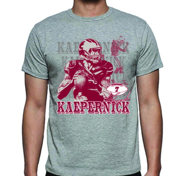 San Francisco 49ers Colin Kaepernick Portrait T-shirt