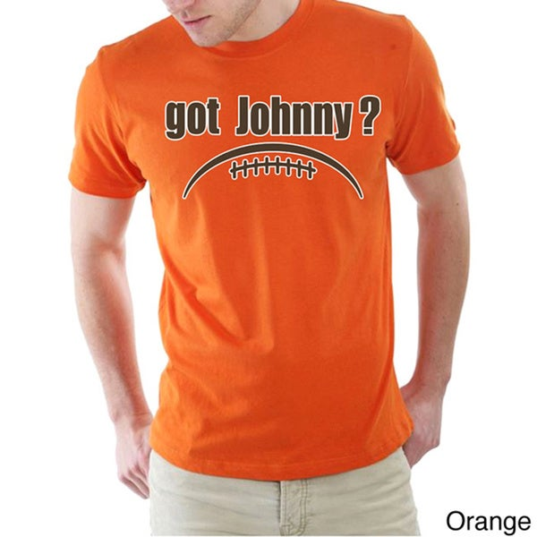 Men's Cleveland Browns 'Got Johnny?' T-shirt