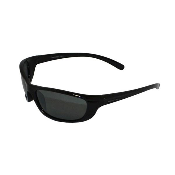 Optic Nerve Men's 'Cloudraker' Polarized Grey Sport Sunglasses