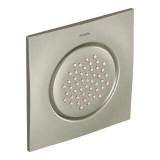Moen Ts1320Bn Accessory Square Flush Mount Body Spray Trim