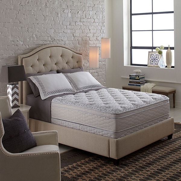 Serta Perfect Sleeper Bristol Way Supreme Gel Euro Top Queen-size Mattress Set