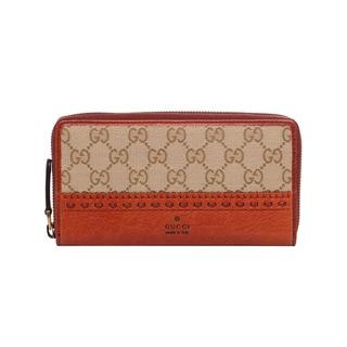 Gucci 'Laidback Crafty' Original GG Print Continental Wallet