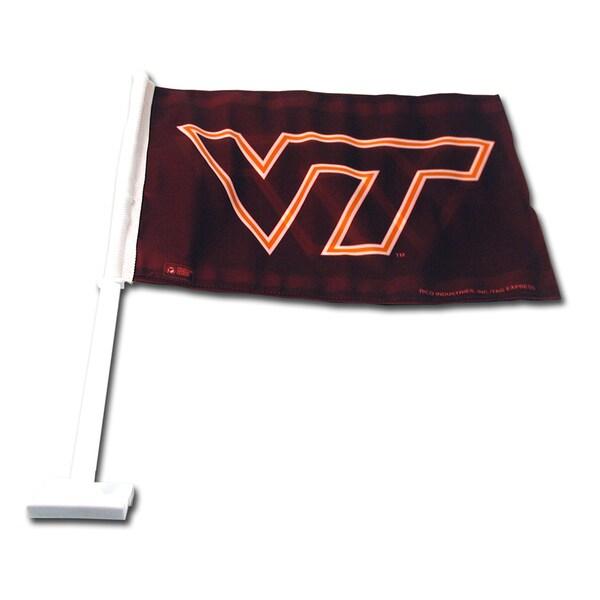 NCAA Virginia Tech Hokies Car Flag 13053115