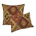 Austin Horn Classics Navajo Down Filled Throw Combo Pillows (Set of 2)